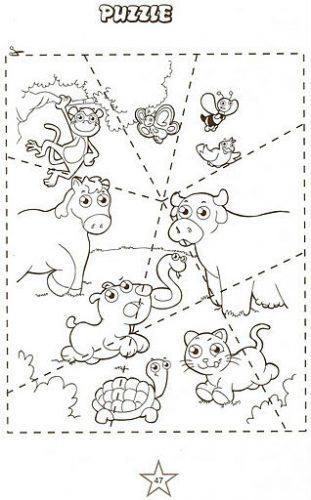 puzzle-animais