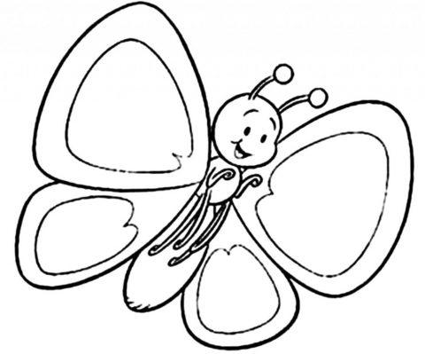 Imagens de borboletas para imprimir e colorir