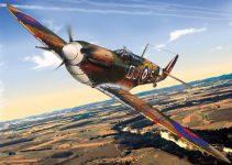 Imprima, recorte e monte o avião - Supermarine Spitfire MK II a
