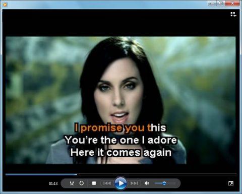 Transformar o Windows Media Player num Karaoke