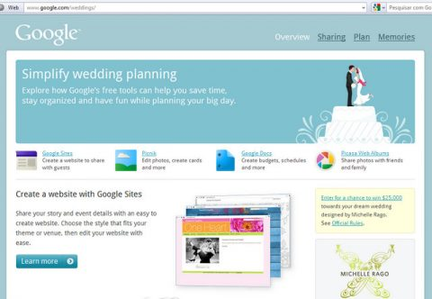 Google Weddings