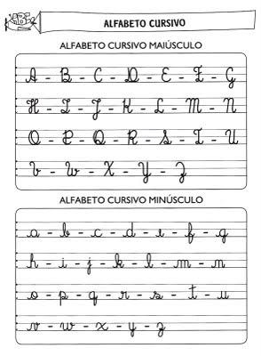 Actividades para aprender o alfabeto manuscrito 2