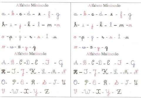 Actividades para aprender o alfabeto manuscrito 9