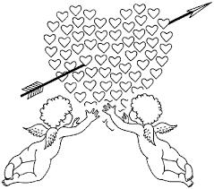 Imagens do Cupido para imprimir e colorir 12