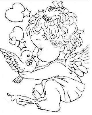 Imagens do Cupido para imprimir e colorir 13