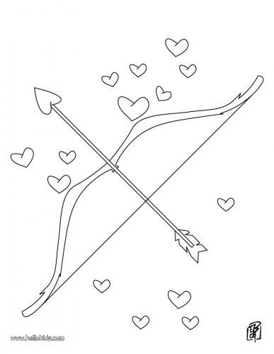 Imagens do Cupido para imprimir e colorir 8