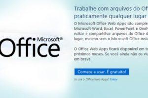 Office Web Apps em Português