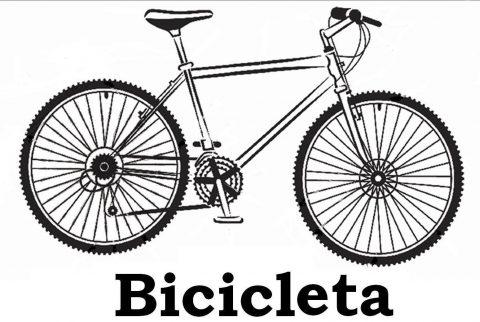 Bicicletas para imprimir e colorir