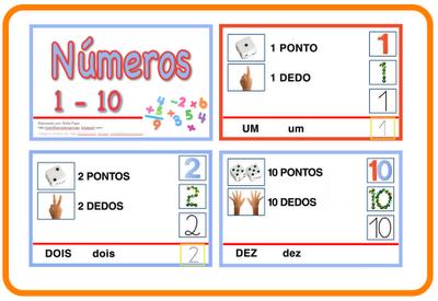 Números de 1 a 10