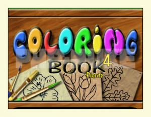 Coloring Book 4: Plants 4.22.74