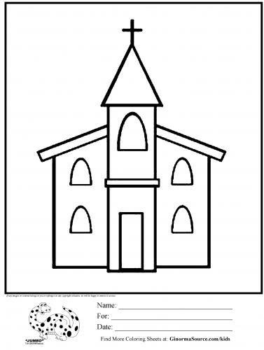 Imagens de igrejas para imprimir e colorir 10