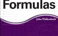 Manual para criar fórmulas em Excel 2010