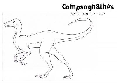 Imagens de dinossauros para imprimir e colorir 11