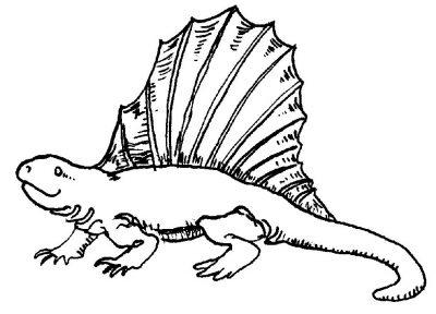 Imagens de dinossauros para imprimir e colorir 3