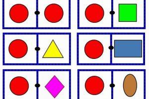 Jogo do dominó geométrico