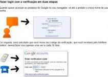 Verificação dupla nas contas google