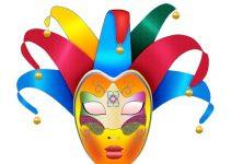 Máscaras de Carnaval para imprimir e recortar