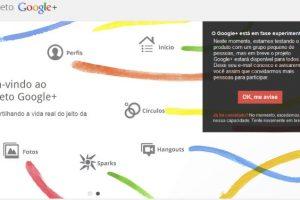 Projecto Google+