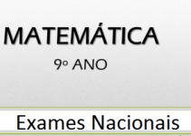 Exames de Matemática do 9º ANO