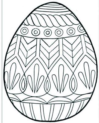colorir ovos de Páscoa