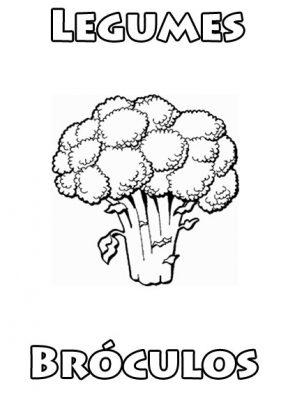 Imagens de legumes e verduras para imprimir e colorir 10