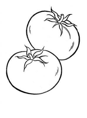 Imagens de legumes e verduras para imprimir e colorir 16