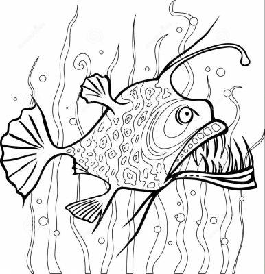Imagens de peixes para imprimir e pintar- 11