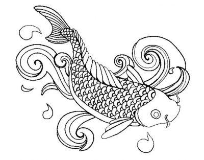 Imagens de peixes para imprimir e pintar- 15