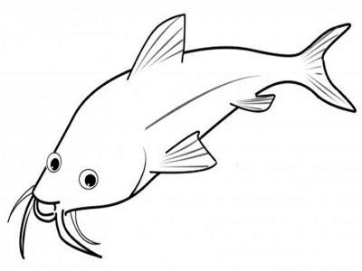 Imagens de peixes para imprimir e pintar- 6