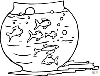 Imagens de peixes para imprimir e pintar- 9
