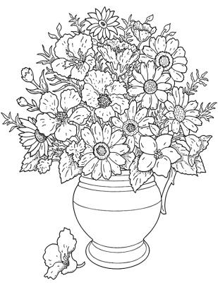 Imagens de plantas para imprimir e colorir 12