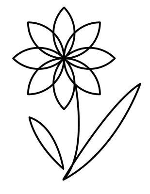 Imagens de plantas para imprimir e colorir 8