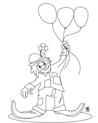 imagens de balões para pintar 8