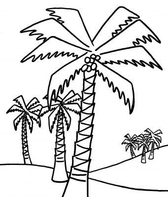 Imagens de árvores para imprimir e colorir - 4
