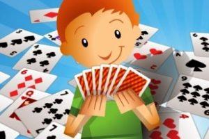 Jogos de cartas específicos para as crianças