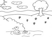 imagem-natureza-para-colorir