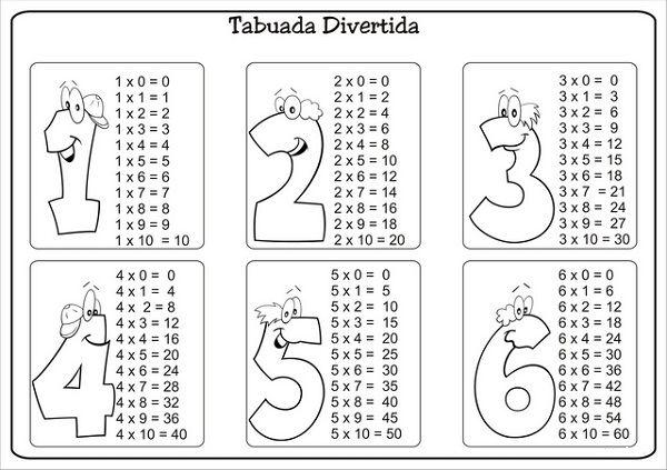 Aprendendo-a-Tabuada