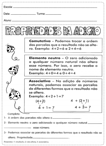 Fichas de trabalho de Matematica para o 5º ano - 4