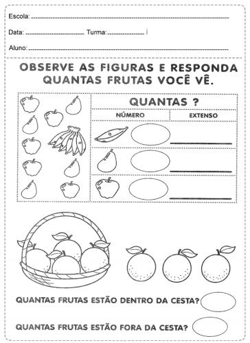 atividades de matemática 2º ano - 5