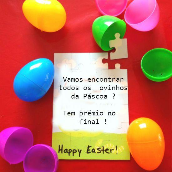 Caça aos ovos da Páscoa