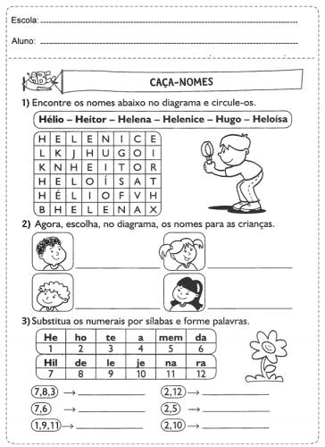 Atividades de ortografia ensino fundamental