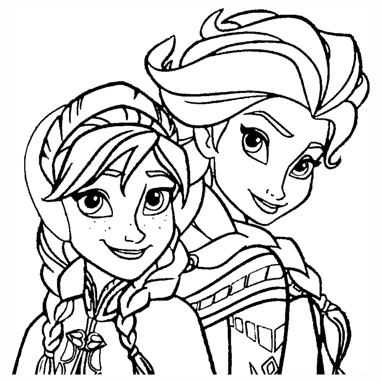Desenhos para colorir Frozen - Educação Online