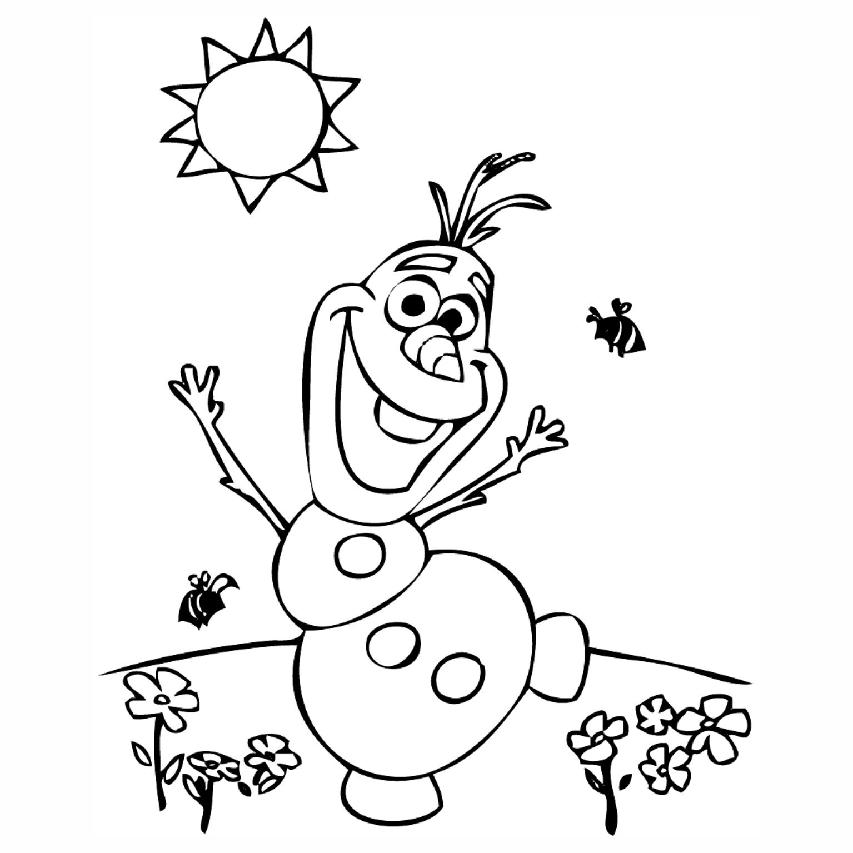 Desenhos para colorir frozen educa o online - Coloriage olaf ...
