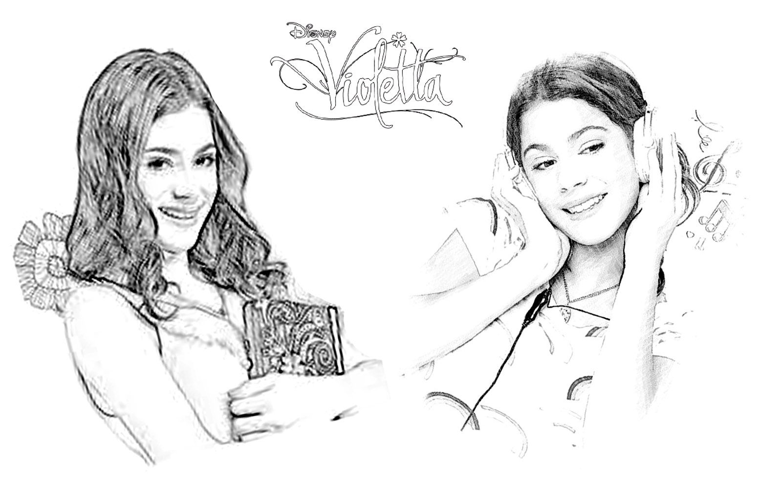 Printable coloring pages violetta - Colouring Pages Violetta Desenhos Para Colorir Da Violetta Educa O