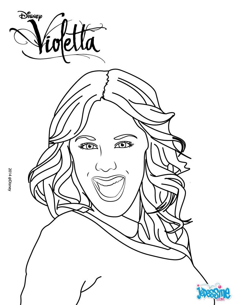 Desenhos para colorir da violetta educa o online - Photo de violetta a imprimer gratuit ...