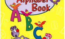 Livro do alfabeto inglês para crianças