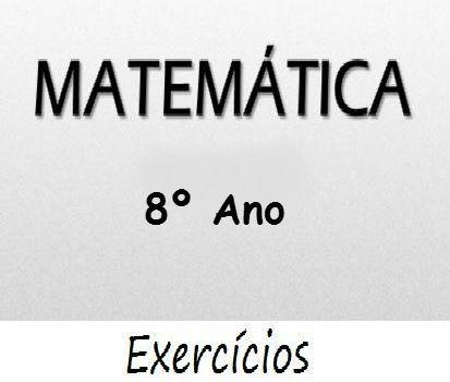 Fichas de trabalho de Matemática 8º-ano