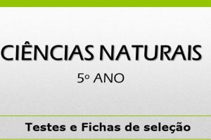 Testes de Ciências Naturais 5º ano