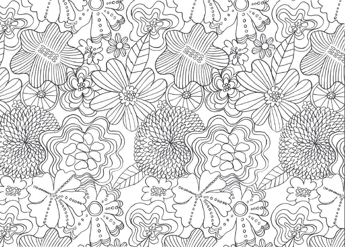Desenhos para colorir para aliviar