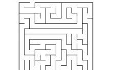 Atividades de labirinto para o Dia das Mães